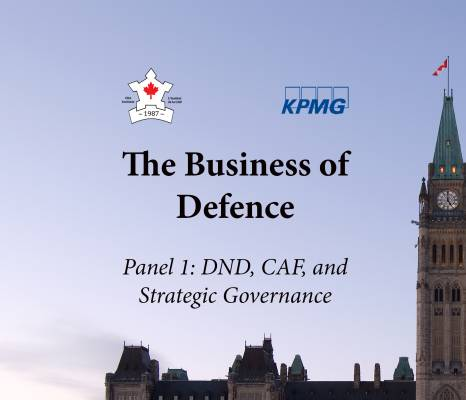 KPMG Event Summary (DND, CAF and Strategic Governance)