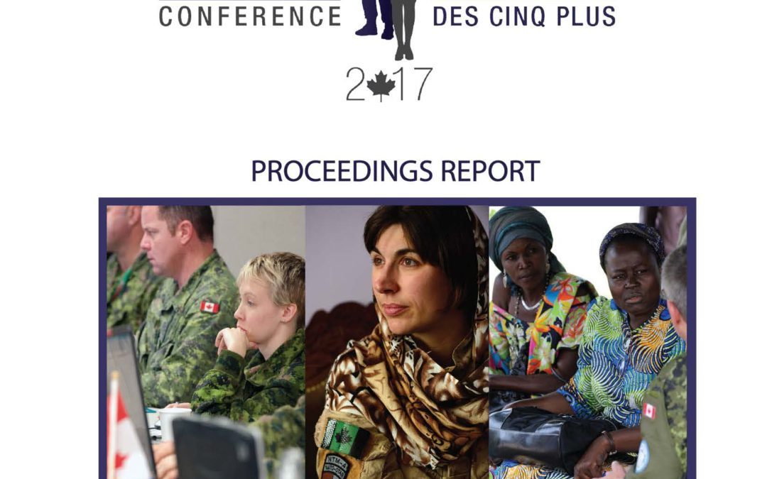 "Canadian Defence Academy releases ""Five Eyes Plus"" Gender Conference 2017 Record of Proceedings"