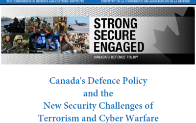 Dur-e-Aden: Canada's Defence Policy and the New Security Challenges of Terrorism and Cyber Warfare