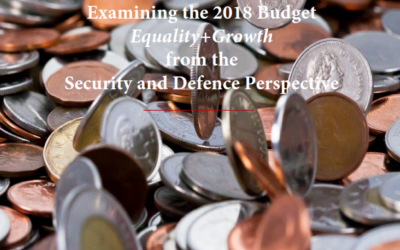 Examining the 2018 Budget : Equality+Growth from the Security and Defence Perspective