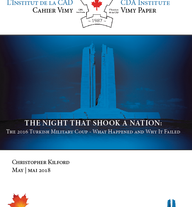 Vimy Paper No. 37 – The Night That Shook A Nation: The 2016 Turkish Military Coup – What Happened and Why it Failed