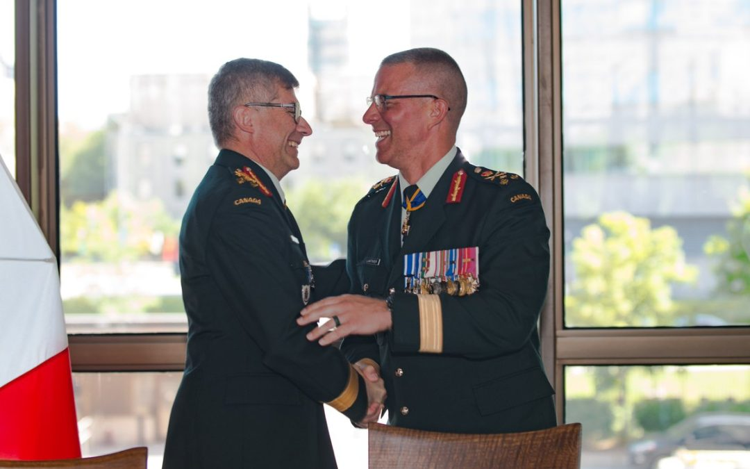 Norman, Wynnyk, Vance: Drawing the line between politics and leadership in the CAF
