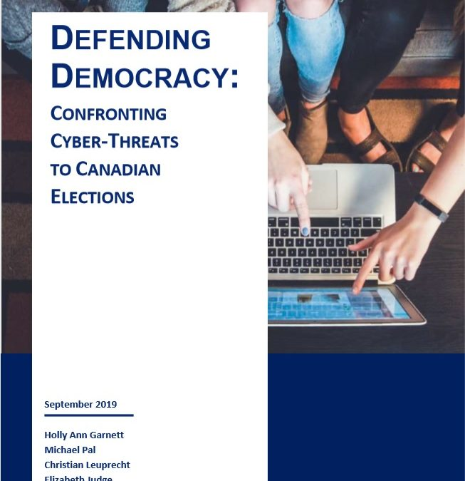 Defending Democracy: Confronting Cyber Threats to Canadian Elections