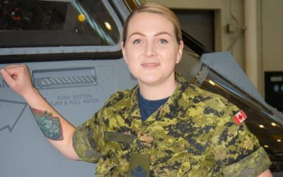 Nichola Goddard Award Ceremony to Honour Sergeant Leslie Blair of the Royal Canadian Air Force