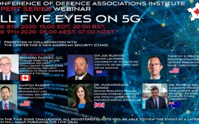 Free Webinar: All Five Eyes on 5G