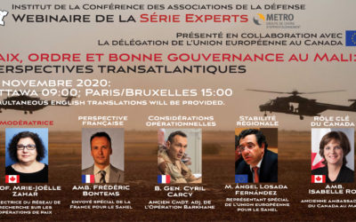 (WEBINAR) Peace, Order and Good Government in Mali